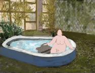 08_05_2017 tomando un baño